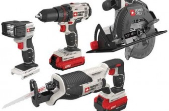 10 Best Power Tool Combo Kits in 2020 – Reviews & Buyer's Guide